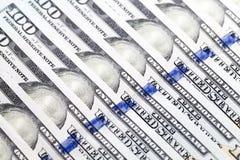 美国美元,特写镜头 免版税库存图片