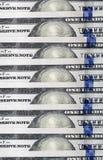 美国美元,特写镜头 库存照片