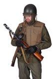 美国美国兵朝鲜战争 免版税图库摄影