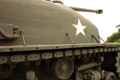美国老坦克 库存照片