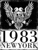 美国老鹰划线传染媒介 免版税库存照片