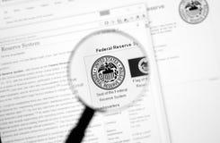 美国联邦储备系统 免版税库存图片