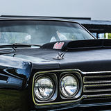 美国肌肉汽车,普利茅斯跑腿者 免版税图库摄影