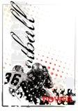 美国背景橄榄球 免版税图库摄影