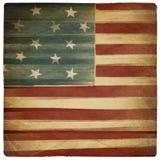 美国背景爱国葡萄酒 免版税库存照片