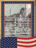 美国自豪感 库存图片