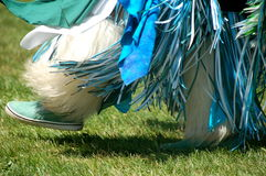 美国舞蹈当地人 免版税库存照片