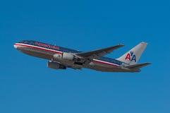 美国航空波音767 免版税图库摄影