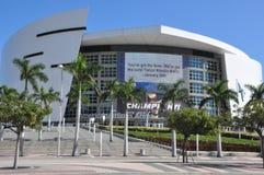 美国航空竞技场在迈阿密 免版税库存图片