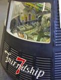 美国航空航天局友谊7航天器-- 约翰H. Glenn 库存照片