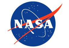 美国航空航天局商标 向量例证