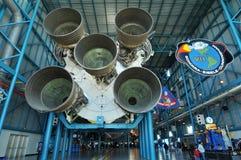 美国航空航天局火箭土星v 免版税库存图片