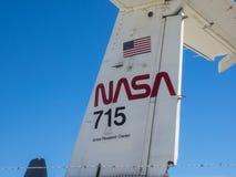 美国航空航天局的艾姆斯研究中心第75周年家庭招待会 免版税库存照片