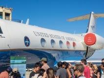 美国航空航天局的艾姆斯研究中心第75周年家庭招待会 免版税库存图片
