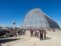 美国航空航天局的艾姆斯研究中心第75周年家庭招待会 库存图片