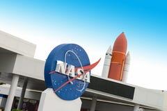 美国航空航天局肯尼迪航天中心旅行 库存照片