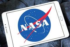 美国航空航天局航天局商标 免版税库存图片