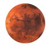 美国航空航天局装备的这个图象的行星火星被隔绝的元素 库存例证