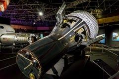 美国航空航天局陈列在曼谷,泰国 免版税库存照片