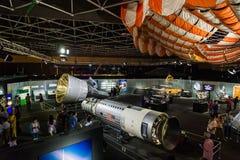 美国航空航天局陈列在曼谷,泰国 免版税库存图片