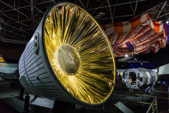 美国航空航天局陈列在曼谷,泰国 库存照片