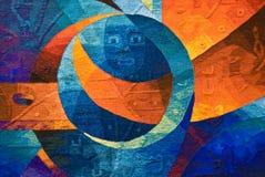 美国艺术当地人 免版税库存照片