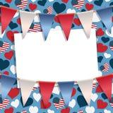 美国装饰 免版税库存图片