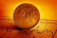 美国财务 免版税库存照片