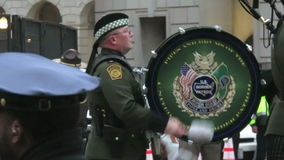 美国边境巡逻仪仗队 股票视频