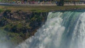 从美国边的尼亚加拉瀑布 股票录像