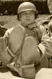 美国退伍军人 库存照片