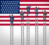 美国选择 免版税库存图片
