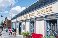 美国邮局在公园市,犹他 免版税库存照片