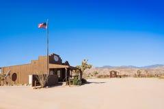 美国邮局在西部先驱镇 库存照片