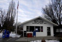 美国邮局联合镇 免版税库存图片