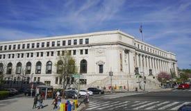 美国邮局,多萝西在华盛顿-华盛顿特区的高度分支-哥伦比亚- 2017年4月7日 库存照片