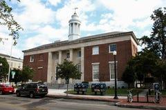 美国邮局,威明顿, NC 库存图片