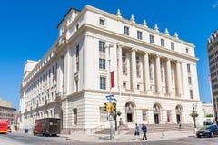 美国邮政局大厦在圣安东尼奥得克萨斯 图库摄影