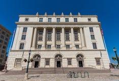 美国邮政局大厦在圣安东尼奥得克萨斯 免版税库存照片