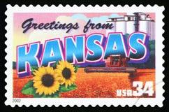 美国邮票 图库摄影