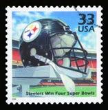 美国邮票 库存照片