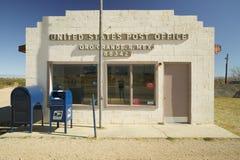 美国重创的Oro的邮局 免版税库存图片
