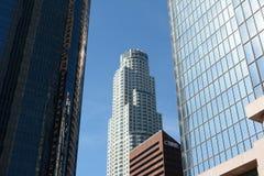 美国银行塔 图库摄影