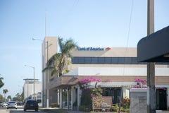美国银行外部 美国银行是总部设的美国多民族银行业务和金融服务公司  库存图片