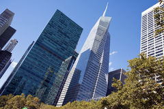 美国银行大厦纽约 图库摄影