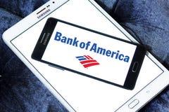 美国银行徽标 图库摄影
