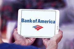 美国银行徽标 库存照片