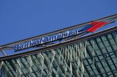 美国银行,伦敦 免版税库存图片