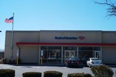 美国银行 美国银行是银行业务和金融服务公司 库存照片