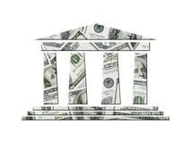 美国银行 库存例证